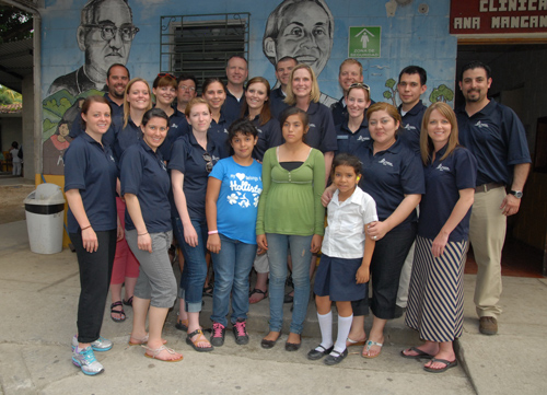 Mission from the hEARt members and El Salvadoran students