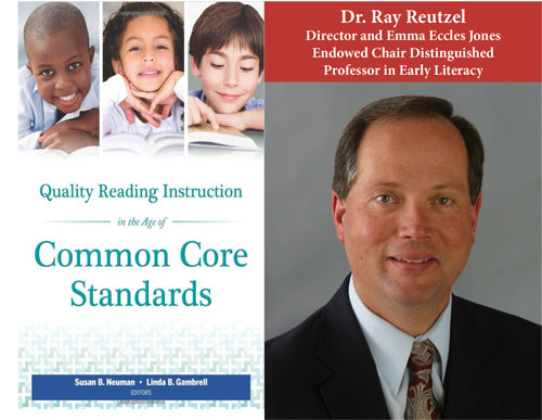Common Core Standards book cover, Ray Reutzel